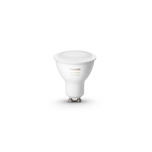 Hue GU10 White and Color Ambiance 5.7W foto
